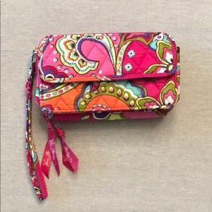 NWOT Vera Bradley pink swirls